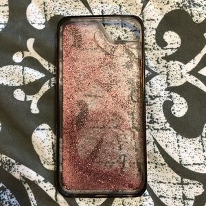 Glittery iPhone 8 case